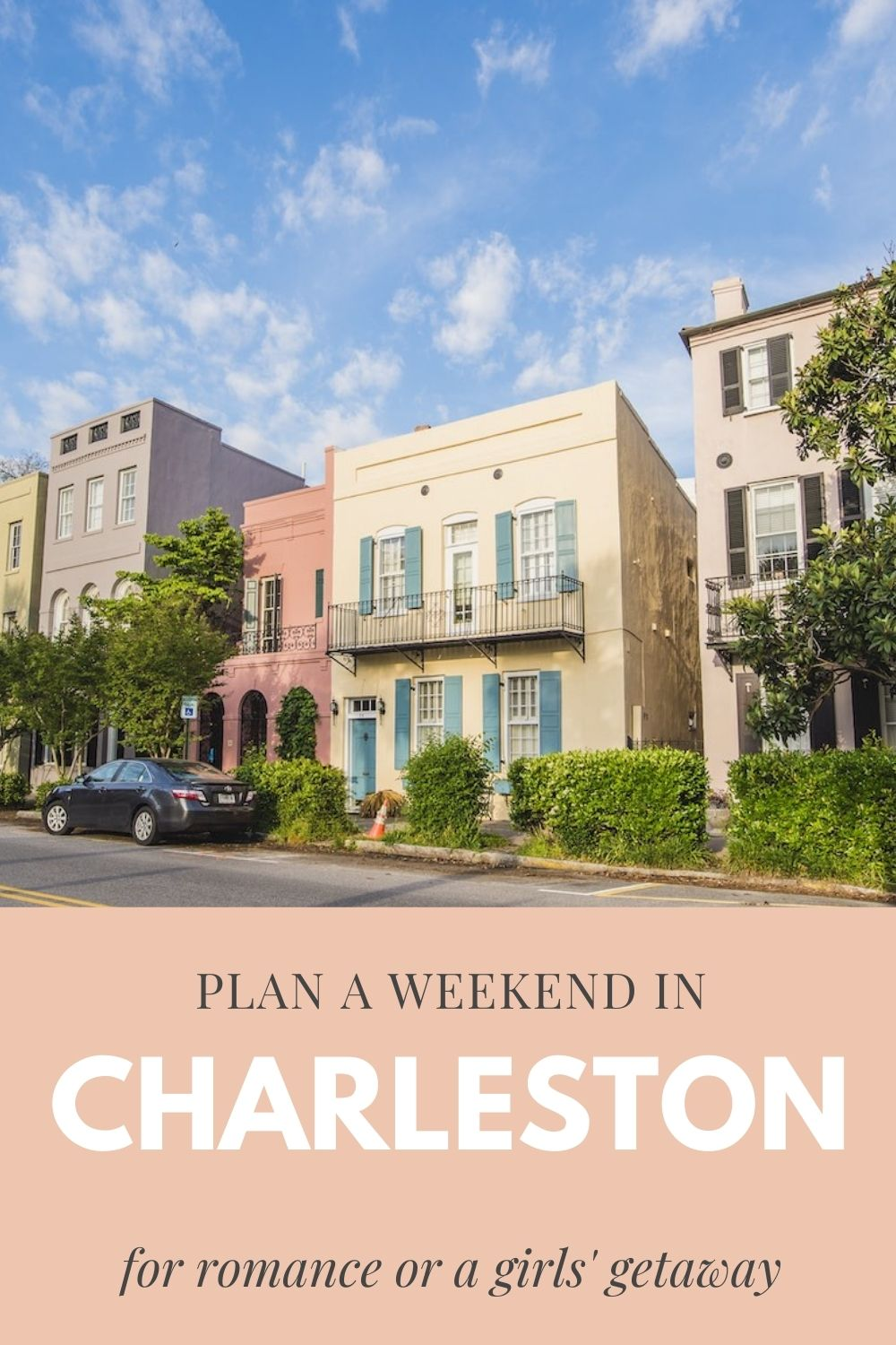 Weekend in Charleston graphic