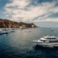 Boats in Avalon Harbor on Catalina Island