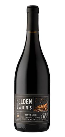 Belden Barnes Serendipity Pinot Noir Bottle Shot