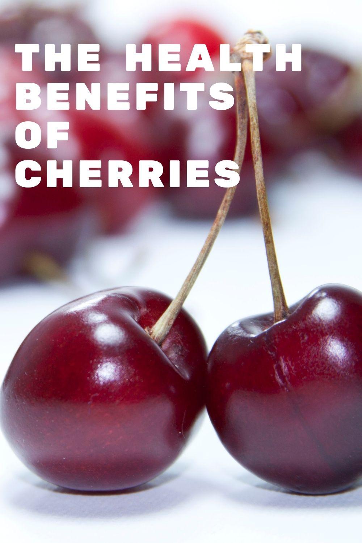 health benefits of cherries graphic