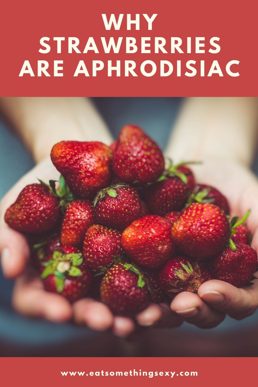aphrodisiac strawberries graphic