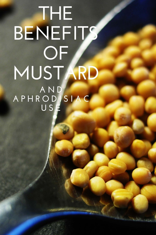 mustard benefits graphic