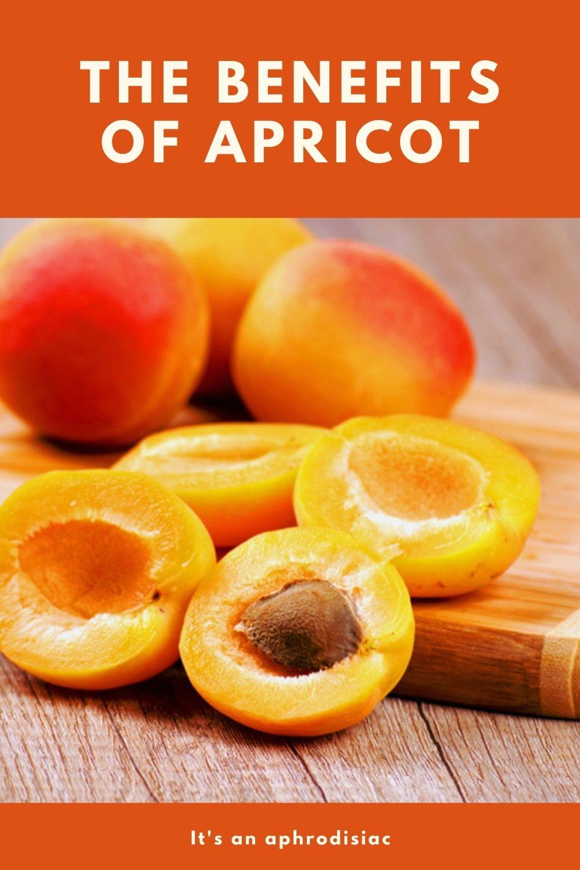apricot benefits graphic