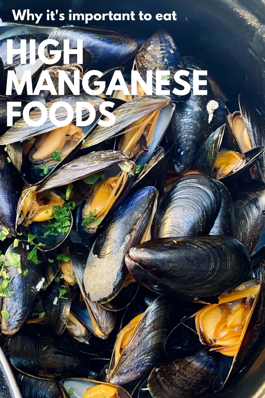 manganese foods graphic