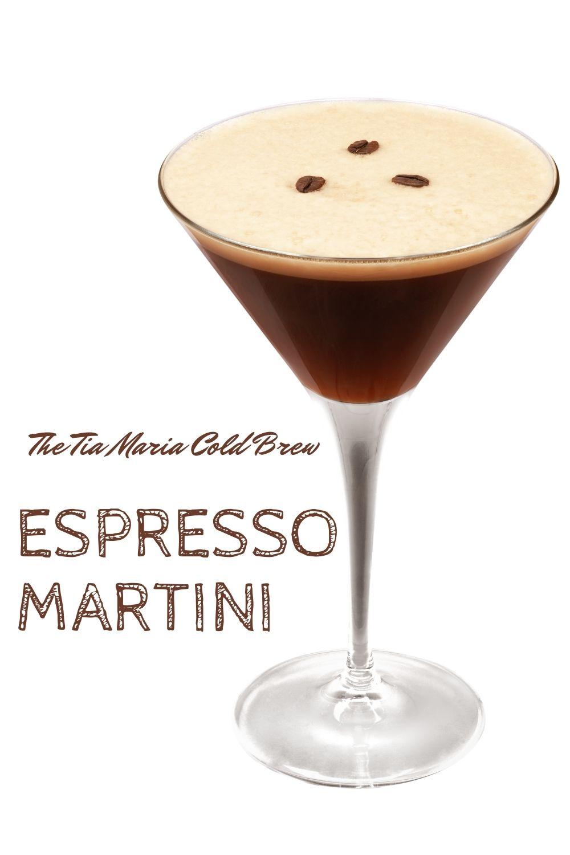 Tia Maria Cold Brew Liqueur Espresso Martini Graphic