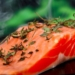 closeup of fish helping to illustrate salmon benefits for men